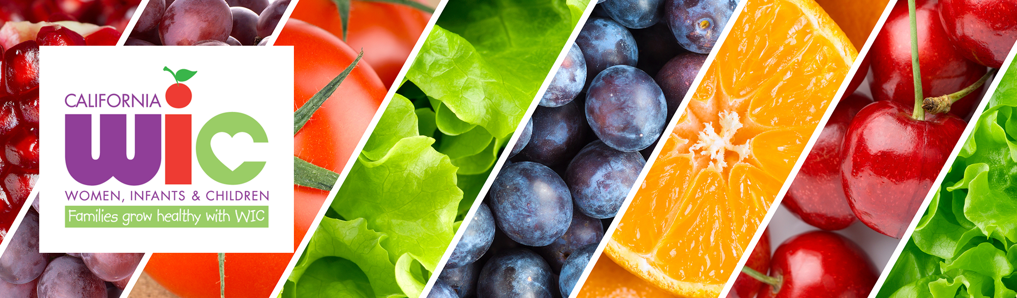 fruit and vegetables banner