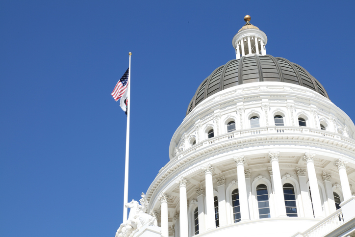 Image of California State Capitol.